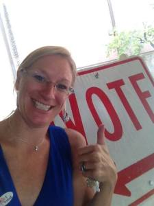 Share your American pride. Let's see your selfies at the polls!